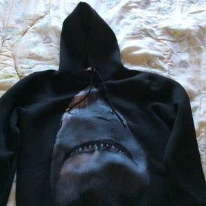 Givenchy Paris shark hoodie